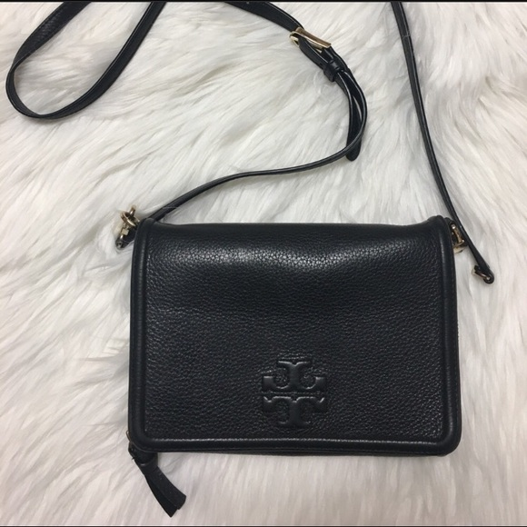 Tory Burch Handbags - Leather crossbody bag. Hardware swivel damage